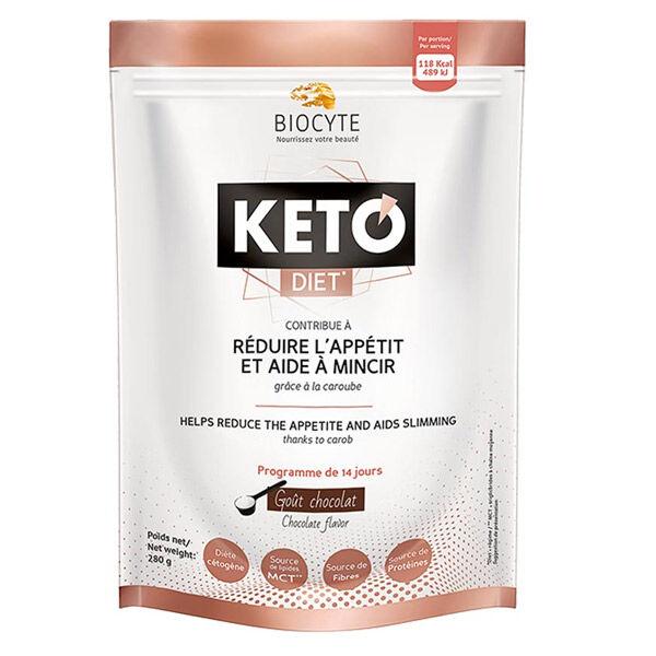 Biocyte Kéto Diet Chocolat Noir 280g