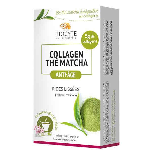 Biocyte Collagene Thé Matcha 10 Sticks