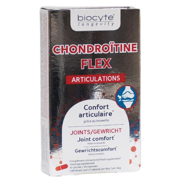 Biocyte Chondroïtine Flex Articulations 30 gélules
