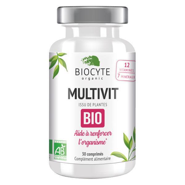 Biocyte Multivit Bio 30 comprimés