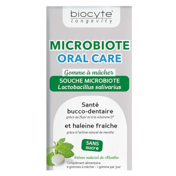 Biocyte Microbiote Oral Care 8 gommes à mâcher