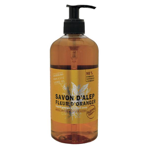 Tadé Savon Alep Liquide Fleur d'Oranger 500ml