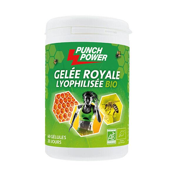 Punch Power Gelée royale Lyophilisée bio 60 gélules