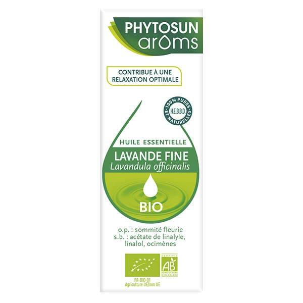 Phytosun Aroms Phytosun Arôms Huile Essentielle Lavande Fine Bio 10ml