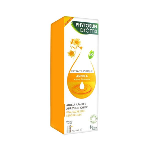 Phytosun Aroms Extrait Lipidique Arnica Bio 50ml