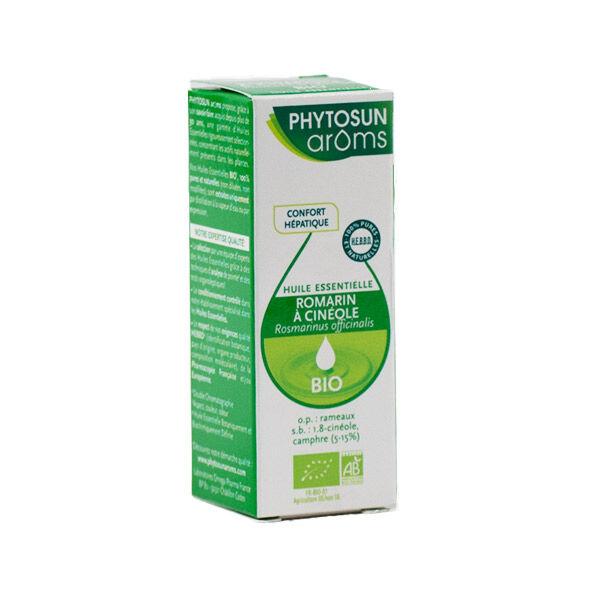Phytosun Aroms Huile Essentielle Romarin à Cinéole Bio 10ml