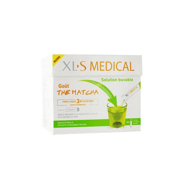 XLS Médical Solution Buvable Thé Matcha 90 sticks