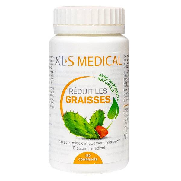 XLS Medical Réducteur de Graisses 150 comprimés