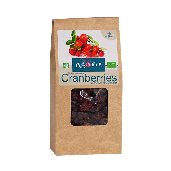 Agovie Bio Baies Séchées Cranberries 250g