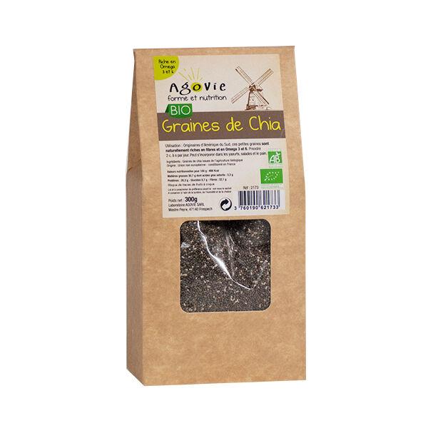 Agovie Bio Graines de Chia 300g