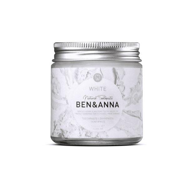 Ben & Anna Dentifrice Pâte en Pot White 100g