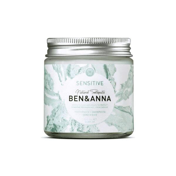 Ben & Anna Dentifrice Pâte en Pot Sensitive 100g