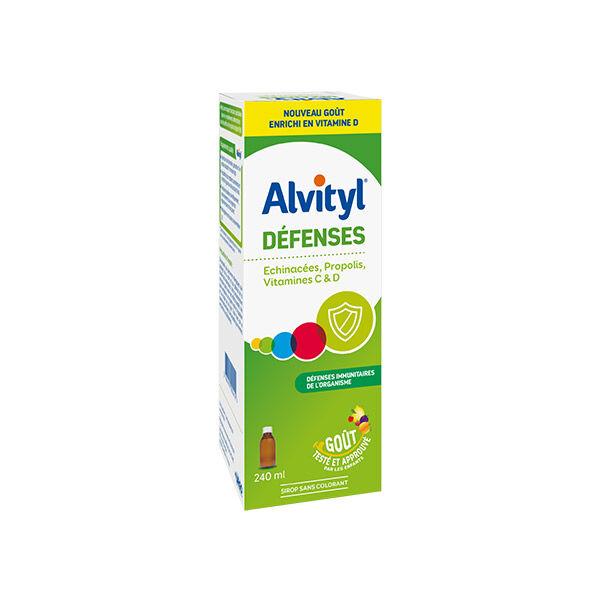 Alvityl Défenses Sirop Vitamine C D 240ml