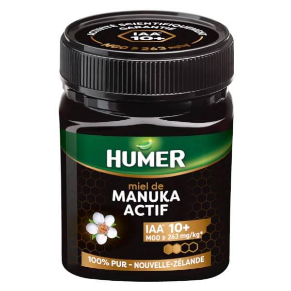 Humer Miel de Manuka Actif IAA 10+ 250g
