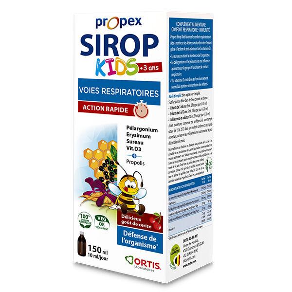 Ortis Propex Sirop Kids Voies Respiratoires 150ml