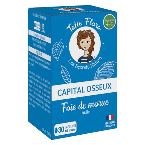 Tatie Flora Capital Osseux 30 capsules