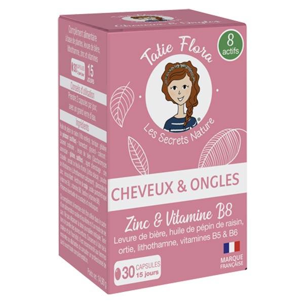 Tatie Flora Cheveux et Ongles 30 capsules