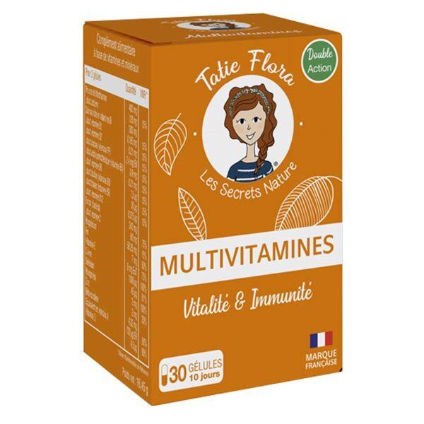 Tatie Flora Multivitamines 30 gélules