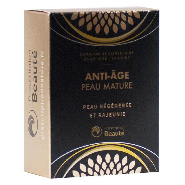 Prescription Nature Anti-Âge Peau Mature 60 gélules