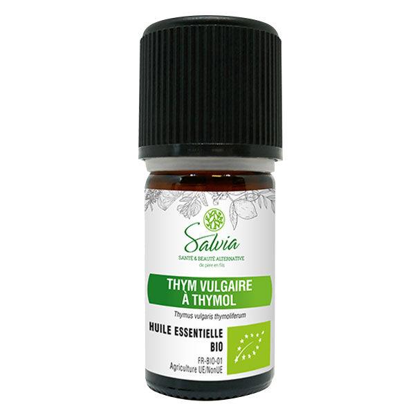 Salvia Huile Essentielle Thym Vulgaire à Thymol Bio 5ml