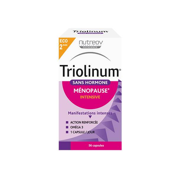 Nutreov Physcience Triolinum Sans Hormone Ménopause Intensive 56 capsules