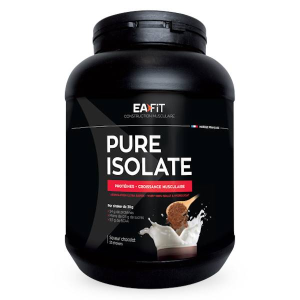 Eafit Pure Isolate Goût Chocolat 750g