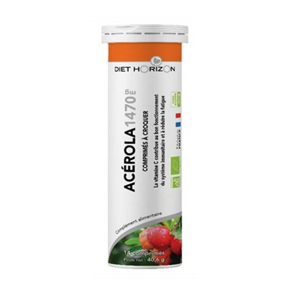 Diet Horizon Acérola Bio 1470mg 14 comprimés