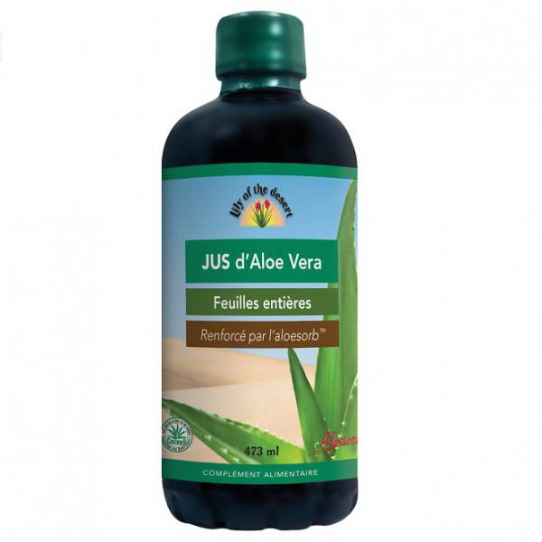 Lily of the Desert Jus d'Aloe Vera 473ml