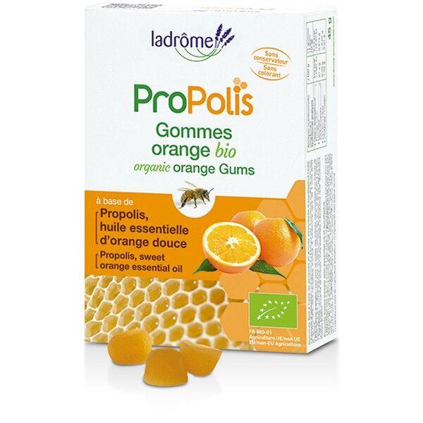 Ladrôme Propolis Gommes BIO Orange 45g
