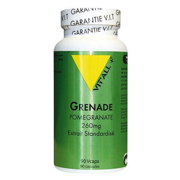 Vit'all+ Grenade Pomegranate 260mg 90 capsules