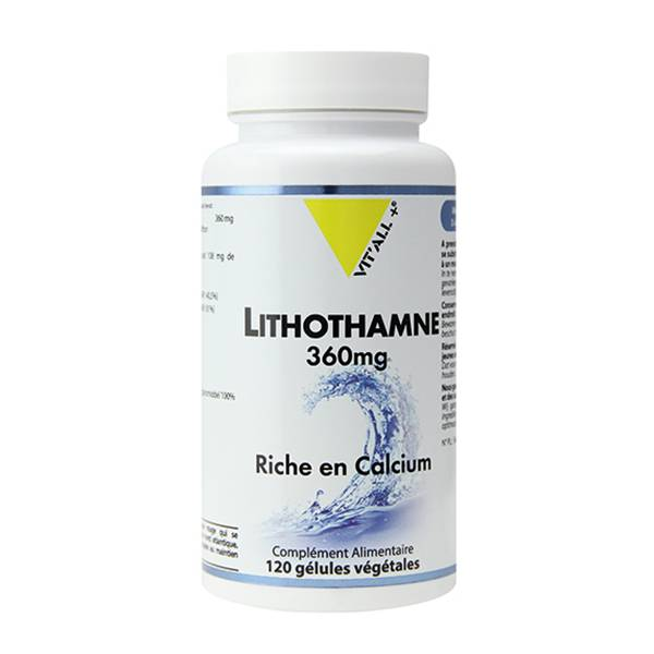 Vit'all+ Lithothamne 360mg 120 gélules