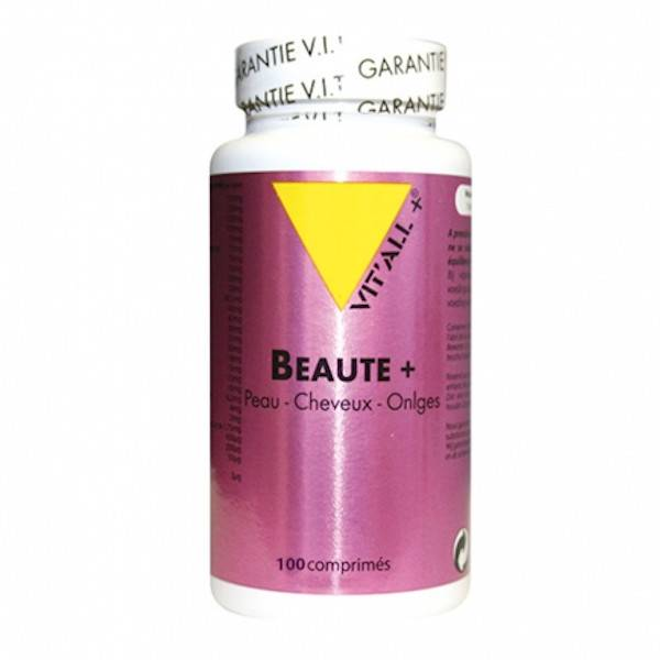 Vit'all+ Beauté+ Peau Cheveux Ongles 100 comprimés