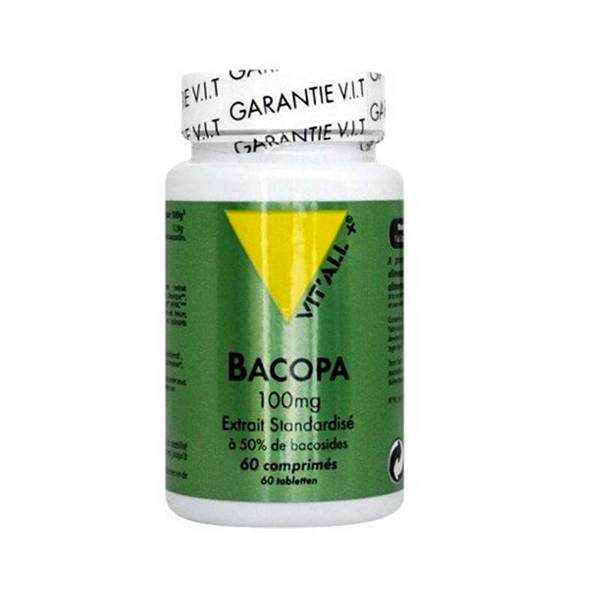 Vit'all+ Bacopa Monnieri 100mg 60 comprimés