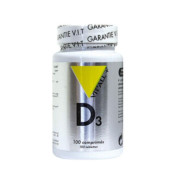 Vit'all+ Vitamine D3 20µg 100 comprimés