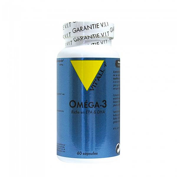 Vit'all+ Oméga 3 1000mg 60 capsules