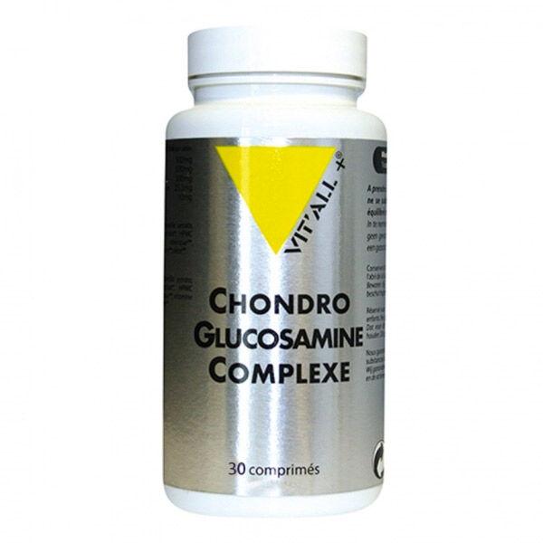 Vit'all+ Chondroglucosamine Complexe 100% végétal 30 comprimés