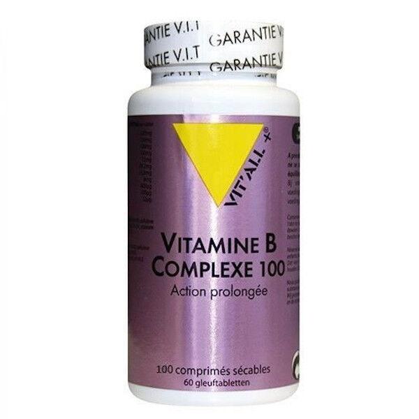 Vit'all+ Vitamines B Complexe 100 Action Prolongée 100 comprimés sécables