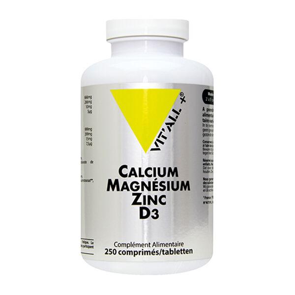 Vit'all+ Calcium Magnésium Zinc D3 250 comprimés