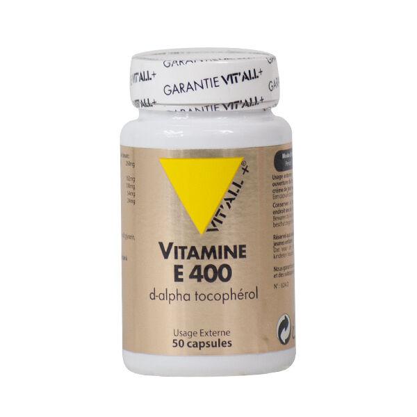 Vit'all+ Vitamine E 400 U.I. 50 capsules