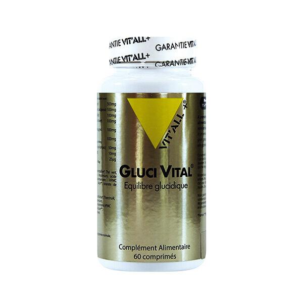Vit'all+ Gluci Vital Equilibre glucidique avec Glucophénol 60 Gélules