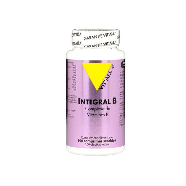Vit'all+ Intégral B 100 comprimés