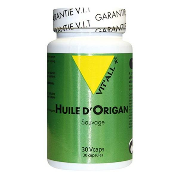 Vit'all+ Huile d'Origan 30 capsules