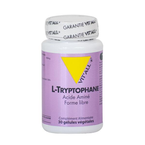 Vit'all+ L-Tryptophane 30 Gélules Végétales
