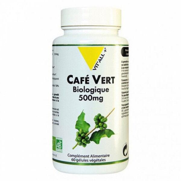 Vit'all+ Café Vert 500mg Bio 60 gélules végétales