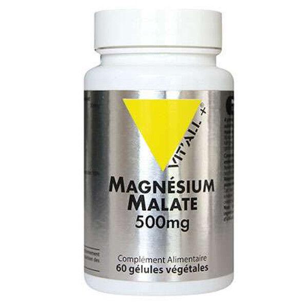 Vit'all+ Magnésium Malate 500mg 60 gélules végétales