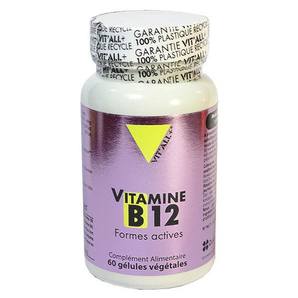 Vit'all+ Vitamine B12 60 gélules végétales