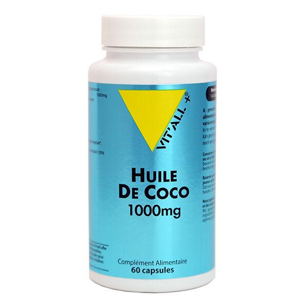 Vit'all+ Huile de Coco 1000mg 60 capules