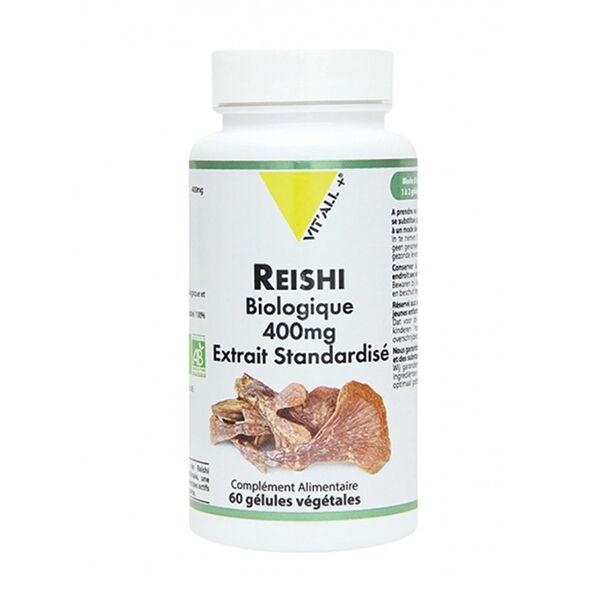 Vit'all+ Reishi Bio 400mg 60 gélules végétales