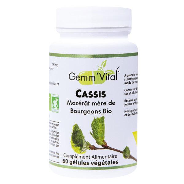 Vit'all+ Bourgeons de Cassis Bio 60 gélules végétales