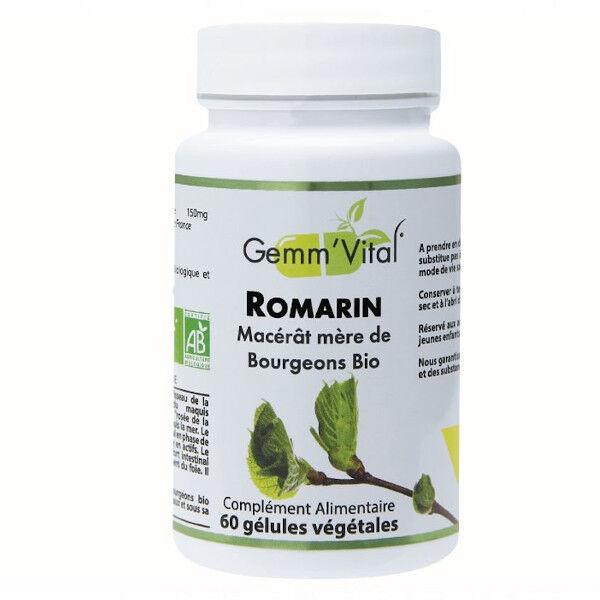 Vit'all+ Bourgeons de Romarin Bio 60 gélules végétales